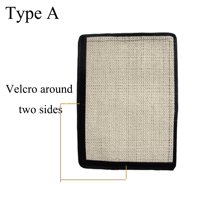 Furniture Protect Cat Kitten Scratch Board Pad Sisal Scratcher Mat Claws Care Cat Toy Product Sofa Scratching Post Protect #3