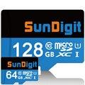 Marca selado sundigit alta qualidade 128 gb 64 gb cartão micro sd class10 SDXC De Alta Velocidade de até 60 MB/s Cartões TF 128 GB de Memória cartão