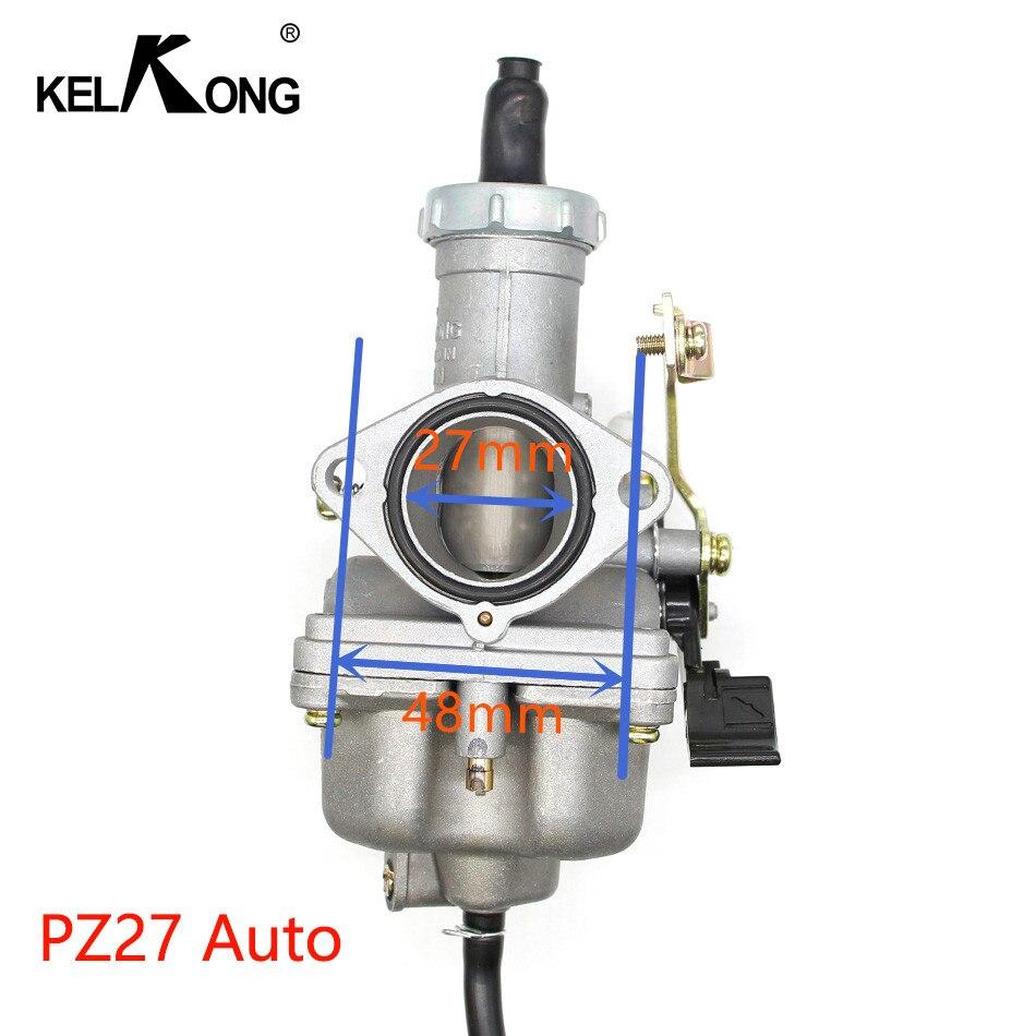 Carburateur de carburateur de moto d'oem de KELKONG ForKeihin PZ27 PZ30 utilisé pour Honda CG125 pour le vélo de saleté de moto de 175CC 200cc 250cc