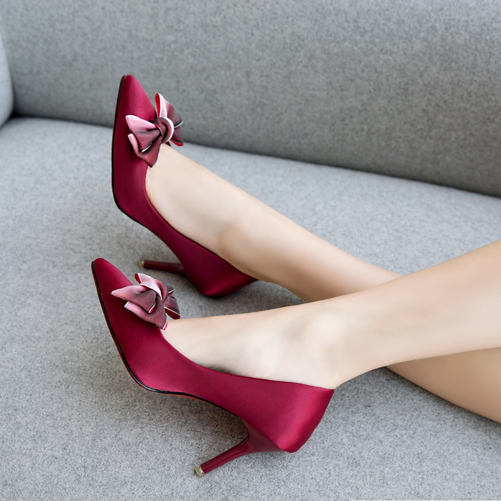 2019 New Shoes Women Pumps High Heels Spring Party Shoes ...