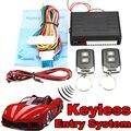 Sistemas de Alarme de Carro Universal Auto Veículo Fechadura Da Porta Kit de Bloqueio Central Controlo Remoto Sistema de Entrada de Keyless Com Controladores Remotos