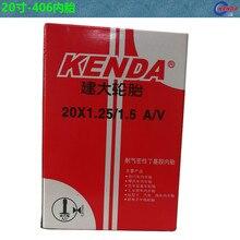 Kenda bike inner tube BMX Folding bicycle tire Tube 20*1.25/1.5/1.75/2.125 AV/FV