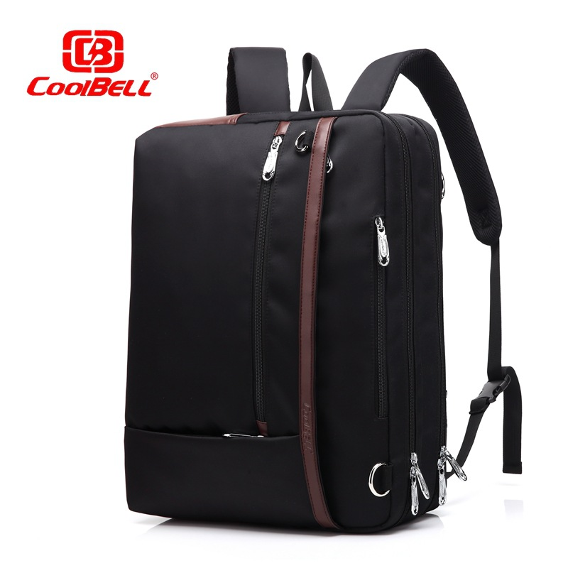 2016 korean tassels weave handbag fashion concise single shoulder package woman package Coolbell New fashion casual Laptop bag Business package 17 inch computer Bag Backpack Single shoulder bag handbag free shipping