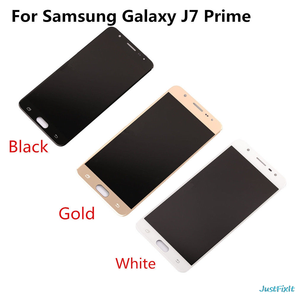 For Samsung Galaxy J7 Prime Display G610f G610k G610l G610s Phone White Gold Lcd Touch Screen Digitizer Sticker In Mobile Lcds From Cellphones