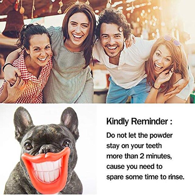 Sbiancamento dei denti di Bambù del Carbone di Legna Spazzolino a setole morbide di Legno Spazzolino Da Denti Polvere di Dente Igiene Orale Pulizia 5