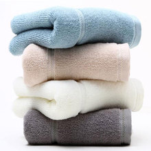 Pure Cotton Tower Solid Color Larfe Thick Bath Towel 70*140cm Absorbent Drying Beach Microfibra Washcloth Luxury Towe