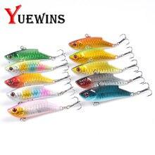 Купить с кэшбэком  YUEWINS Vibration Fishing Lure Pesca 5.5cm 9.2g Ice Fish Wobbler Plastic Artificial Japan Pike Hard Bait Tackle Isca Pech TP198