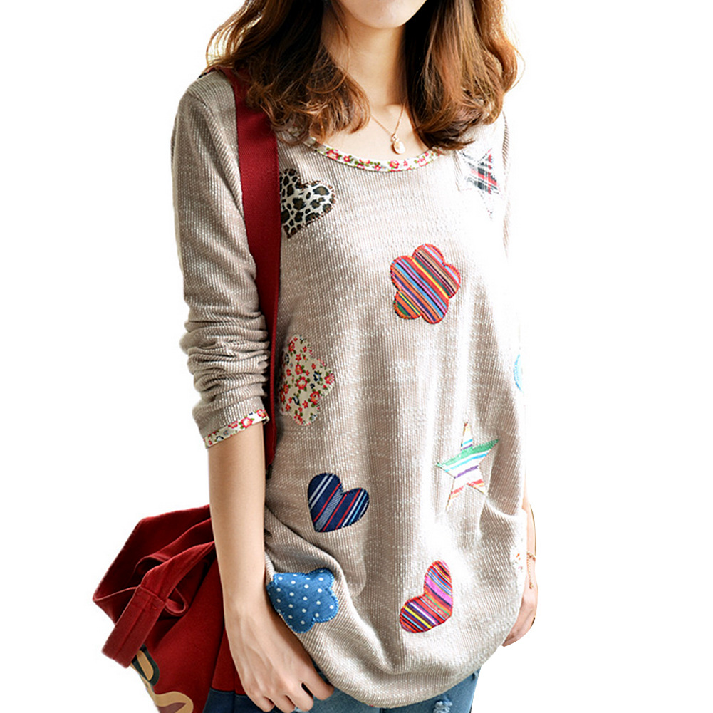 Aliexpress.com : Buy Hot Sale Svitshot Kawaii Applique Sweatshirt ...
