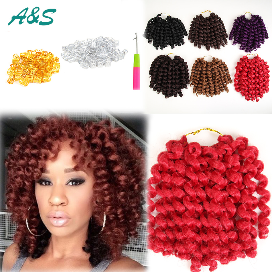 Good Ombre Wand Curl Hair 2x Jumpy Bouncy Bob Hairstyle