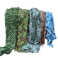 6X5M 2 Layer Military Camouflage Net 210D Oxford Sun Shelter Camo Netting for Hunting Camping Restaurant Party Decoration
