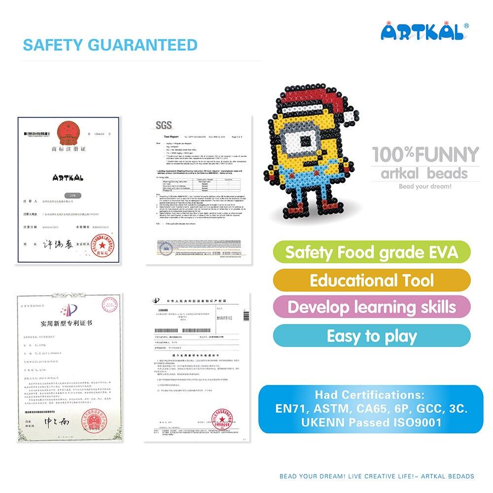 36 cuentas Artkal exclusivas cuentas blandas caja Set Perler A 2.6mm Mini cuentas juguetes educativos CA36 - 6