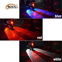 OKEEN car white /blue led welcome door courtesy light with projector angels wings led carpet underglow for car motorcycle light