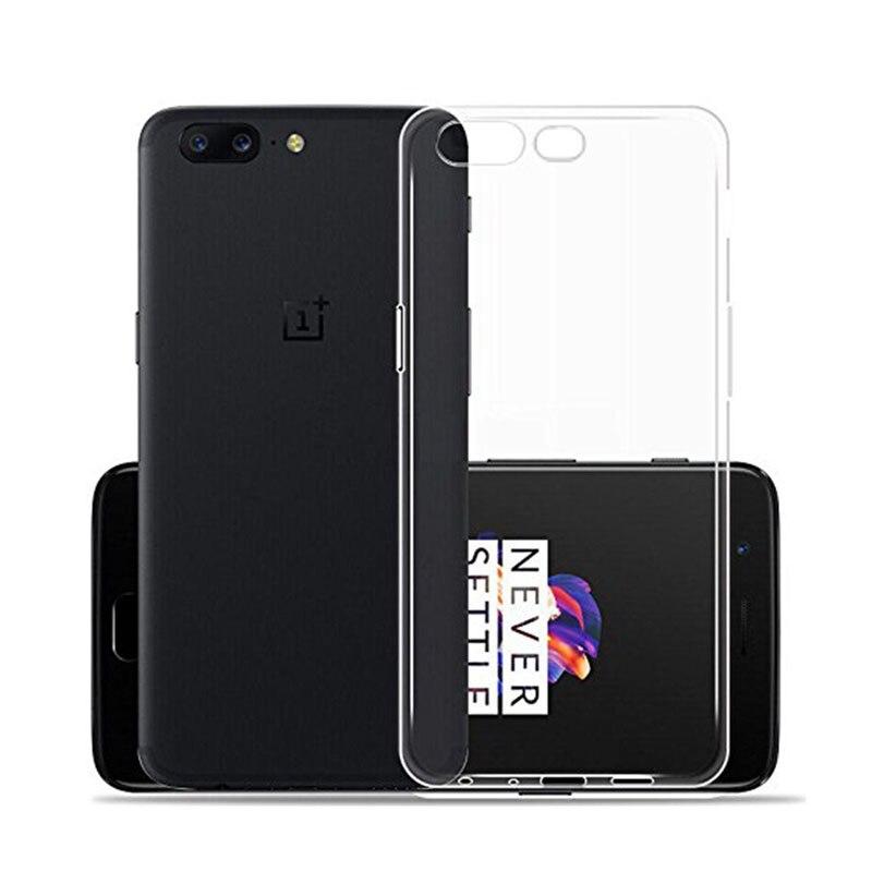 OnePlus 5 Case, ультра тонкий мягкий чехол TPU ясно Резина кожа силиконовый чехол для One Plus 5 (Clear)