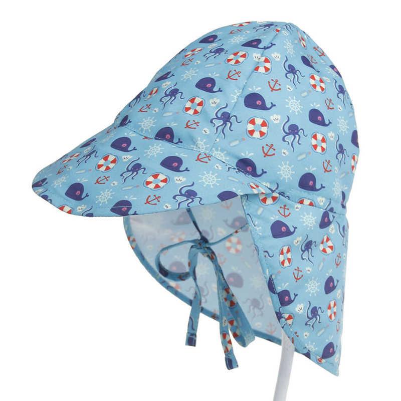 ... Baby Sun Hat Newborn Toddler Baby Boy Girl Hat Cap Soft Bonnet Outdoor  Printing Sunhat Hats 84ffc55b2095