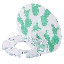 1Pc Cactus Plastic Toothbrush Holder Toothpaste Storage Rack Shaver Tooth Brush Dispenser Bathroom Organizer Accessories-