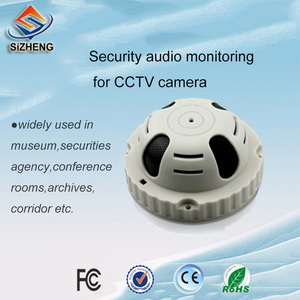 SIZHENG SIZ-160 Smoke type CCTV microphone audio monitoring security solutions for video surveillance system
