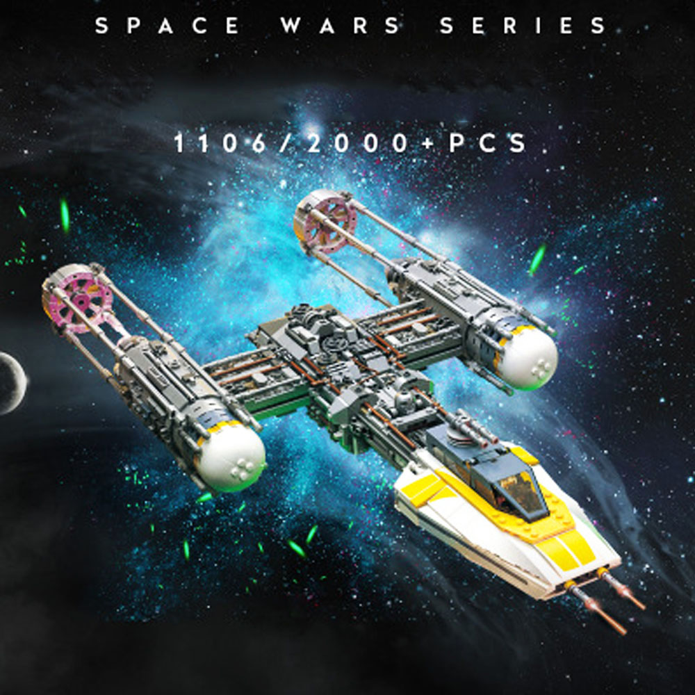 2019 Marvel Star Warsery War Y wing Fighter Classic Model Kids Toys Compatible legoingery STARWARSgood Building