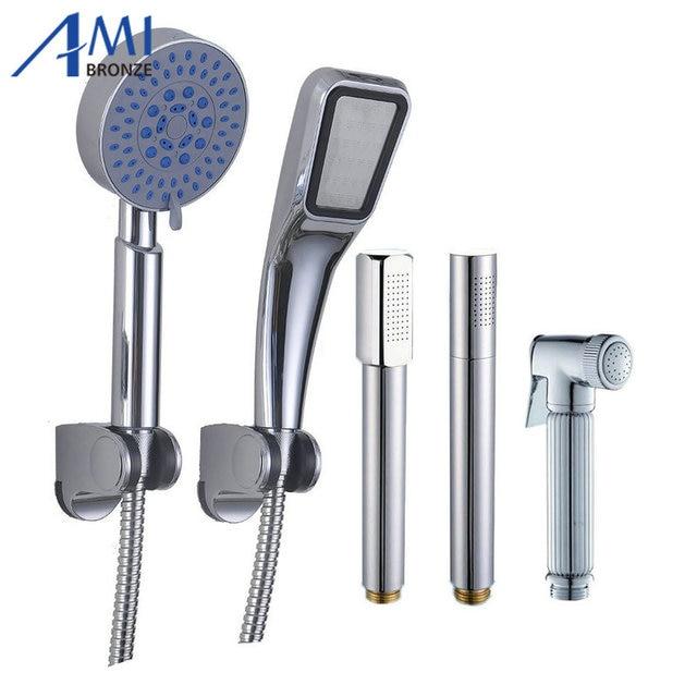 Bathroom Accessories Copper Shower Nozzle Handheld Shower Stick ...