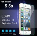 2016 para iphone 6 6 s redondeados 2.5d protector de pantalla de cine de alta calidad de cristal templado película protectora para iphone 6 s plus 5s vidrio