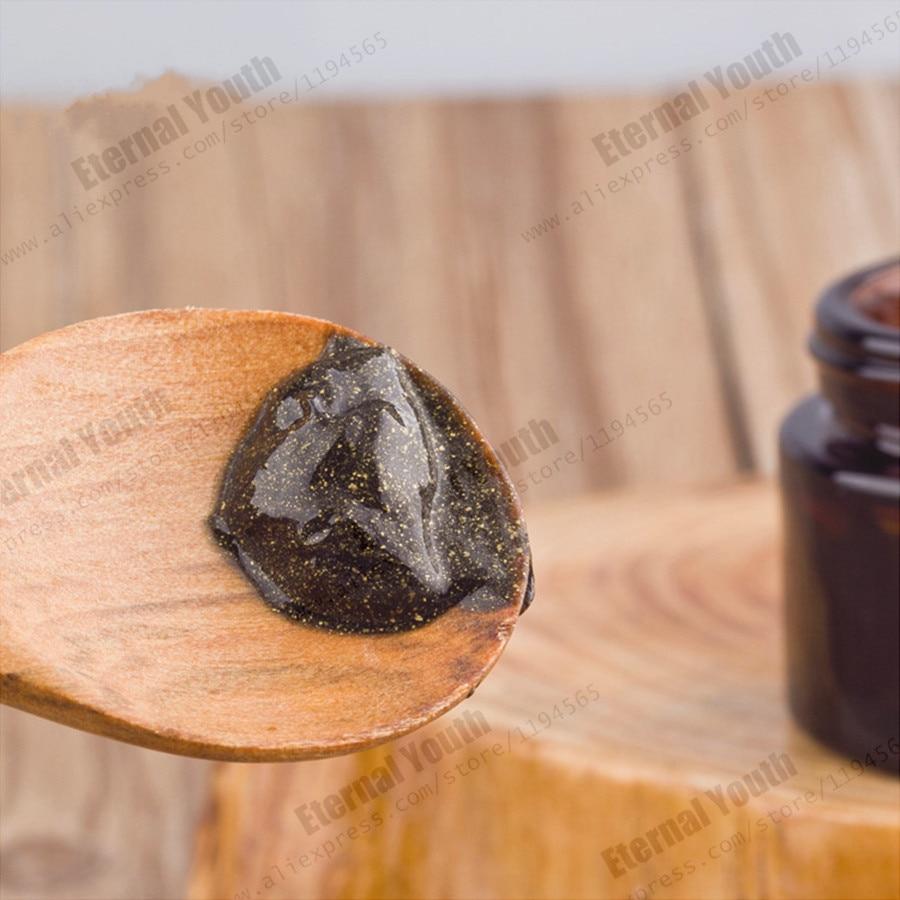 Активированный уголь черный Золотая маска складки устойчивы отбеливающий сохранить влагу глубоко spa лечение 1000 мл - 2
