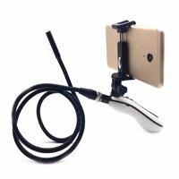 WiFi Cep Telefonu Endoskop Muayene Kamera HD 8mm Su Geçirmez Yılan tüp 1 m Kablo 6 LED Işıkları Endoskop Için Android Için iOS