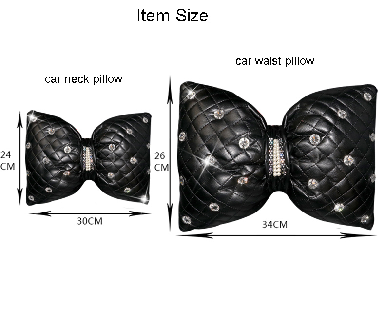 Cute-Diamond-Bowknot-PU-Leather-Car-Neck-Pillow-Waist-Support-Pillows-Auto-Headrest-Pink-Rhinestones-Car-Accessories-111