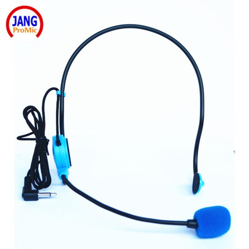 Micrófono de condensador con cable azul profesional micrófono de - Audio y video portátil