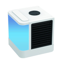 Homgeek  Personal Space Air Cooler Portable Air Conditioner Fan Mini Desk Cooling Fan USB Evaporative Device Home Office Desk