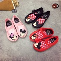 Mini Melissa 3 Color Minnie Mouse Jelly Shoes Girls Shoes Anti-Skid Melissa Shoes Kids Children'S Mickey Shoes 15-18cm