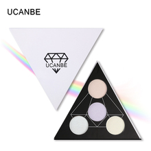 Triangle Holographic Shade Eyeshadow Palette