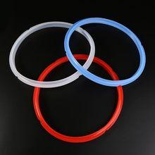 Силиконовое уплотнительное кольцо 22,5 см 6 квартов 24 см 8 квартов для быстрого кастрюли электрическая скороварка Запчасти для уплотнителя