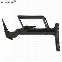 Gel ball water gun G17 bike tail support G18 Flashlight transfer frame Rear end of special handle Outdoor cs battle nylon KI21
