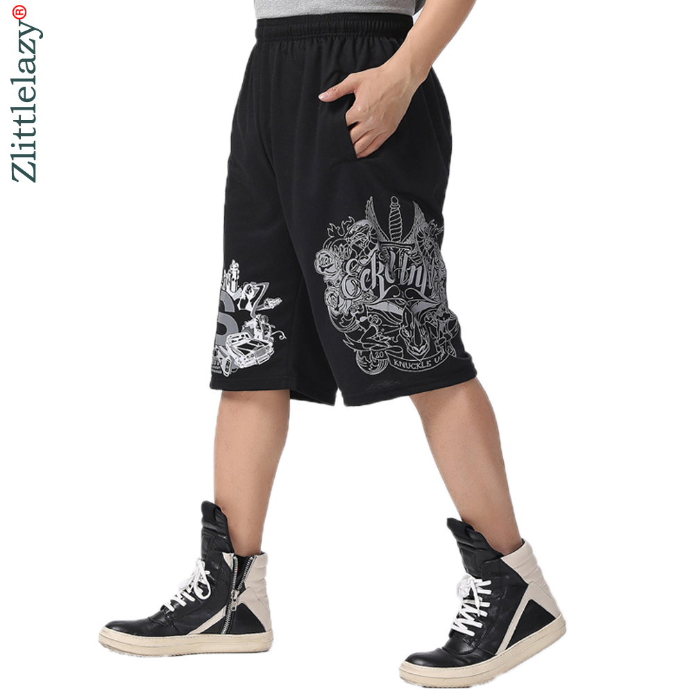 2019 Fashion Brand Summer Hip Hop Plus Size Casual Male Men Jogger Clothing Exercise Shorts Men Homme Bermuda Masculina A226