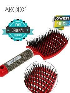 Abody Hair Brush Detangling Hair Brush Magic Hair Comb Women Tangle Hairdressing