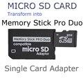 Бесплатная доставка Micro SD SDHC TF карта для Memory Stick MS Pro Duo Адаптер reader для sony камера PSP