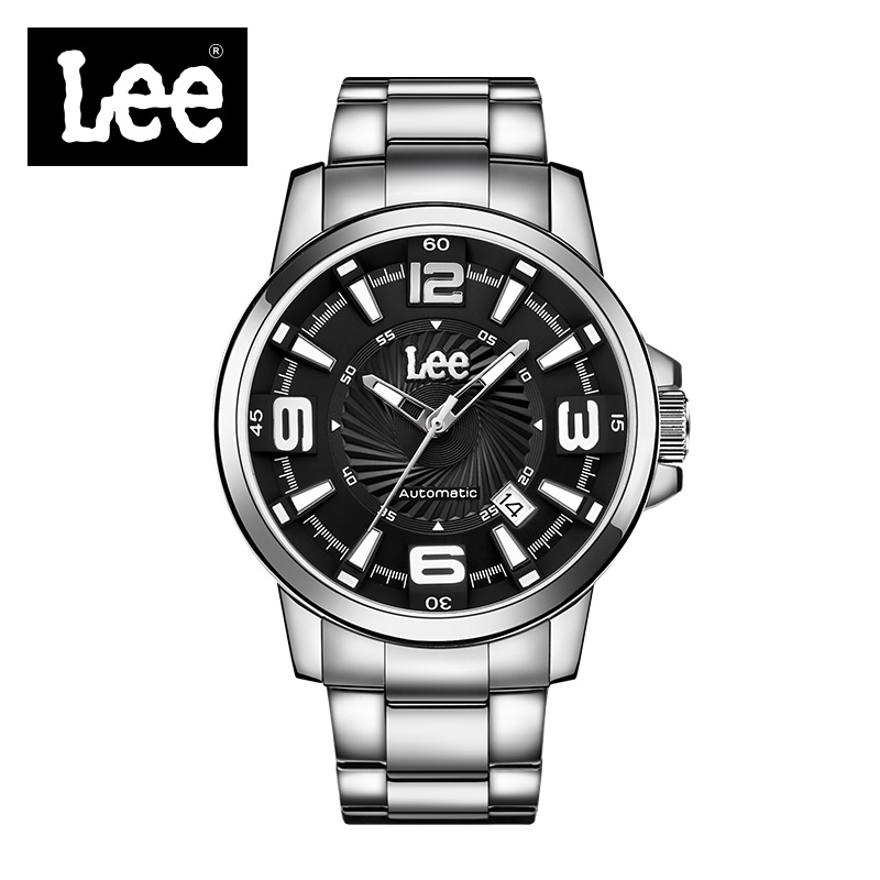 Lee Top Brand Luxury Full Stainless Steel Relogio Mens Watches Male Date Business Clocks Sport Military Luminous Male Clock M15  jedir fashion chronograph men watch top brand luxury blue mens watches military male date clock stainless steel sport clocks