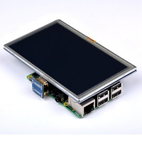 Hot New 5 Inch 800 X 480 HDMI TFT LCD Touch Screen For Raspberry PI 3
