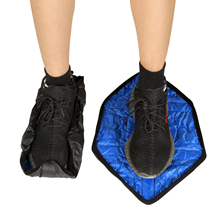 DCOS Hands Free Shoe Covers Step in Sock Cover Reusable for Sneakers& Boots