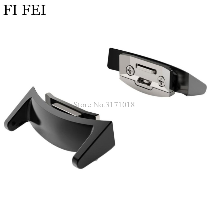 FI FEI Watchbands Adapters for Gear S2 band 20mm Watch Band Stainless Steel Connector Adapter For Samsung Gear S2 RM-720 stainless steel watchband with connector adaptor for samsung gear s2 rm 720 for samsung gear s2 sm r720 band smgs2m3lc
