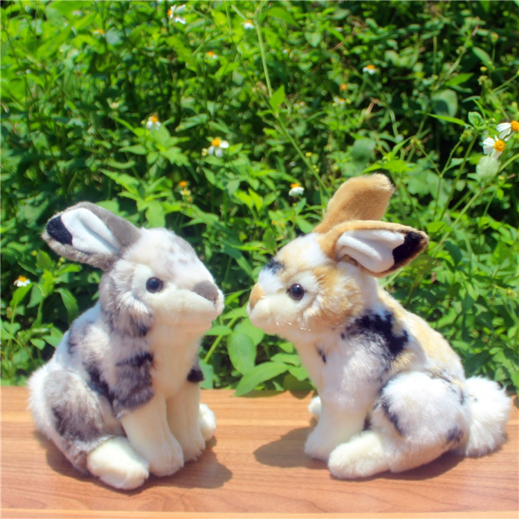 Игрушки для маленьких детей моделирование кролики кукла животных милые сидя Цветочная кролик игрушка в подарок