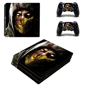 Image 3 - Game Mortal Kombat PS4 Pro Skin Sticker Decal for PlayStation 4 Console and 2 Controllers PS4 Pro Skin Sticker Vinyl