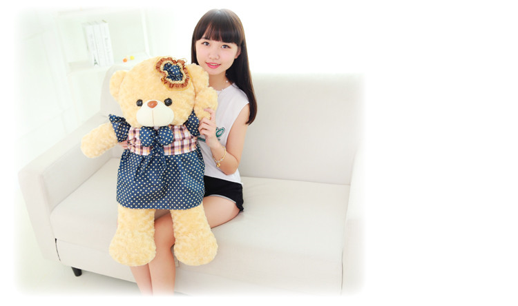 lovely skirt bear plush toy large 80cm bear soft doll , Christmas birthday gift F005 super cute plush toy dog doll as a christmas gift for children s home decoration 20