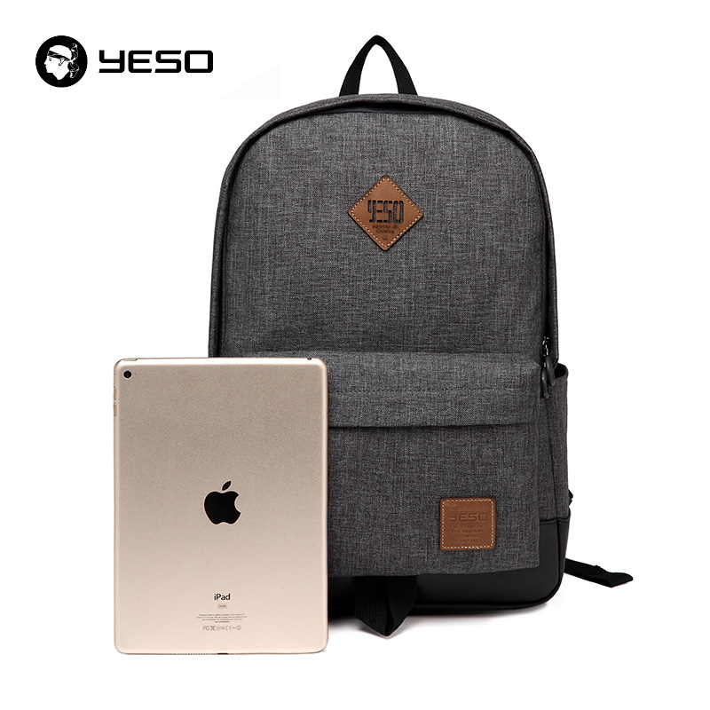 YESO Brand School Backpack Women 2018b Cacual Student College Backpack Bags For Sxhool Waterproof Oxford Men's Backpack Mochilas