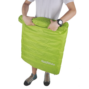 Image 4 - NatureHike ยี่ห้อ Innovative Soft Sleeping Pad Fast Filling Air Ultralight Inflatable Portable Rescue เบาะรองนั่ง