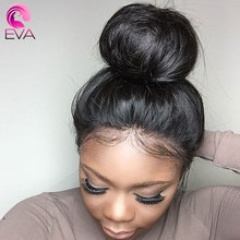 150% Density Lace Front Human Hair Wigs With Baby Hair Eva Hair 13x6 Straight Lace Front Wigs Pre Plucked Brazilian Remy Hair(China)