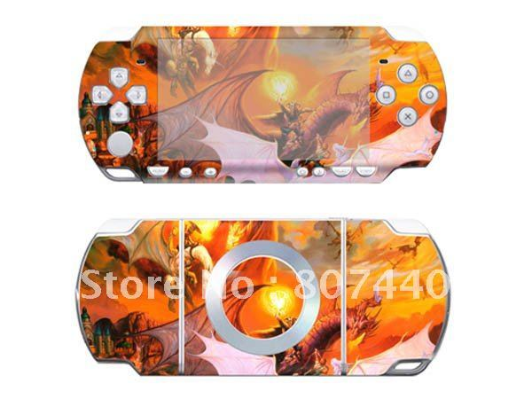 For PSP 2000 Slim Console Fashion Popular Personal Skin Sticker from Manufacturer! High Quality Gift Removable Skin stickers