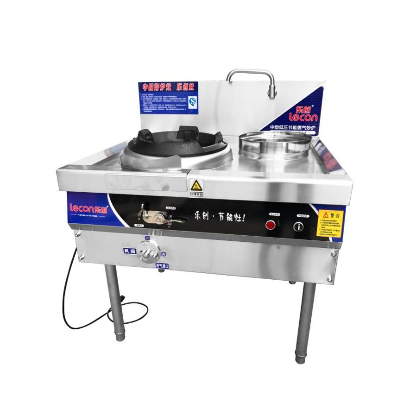 Stainless Steel Cooktop Gas Stove Single-burner Gas Range Commercial Electronic Ignition Gas Cooker