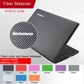 Novo! etiqueta do portátil da cor pura personalidade skins decalque adesivos para lenovo z400/g40/g50/y40 caixa protetora à prova d' água