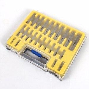 HILDA 0,4-3,2 мм набор мини-сверл HSS Microtech электроинструменты маленький прецизионный сверлильный набор с корпусом пластиковая коробка