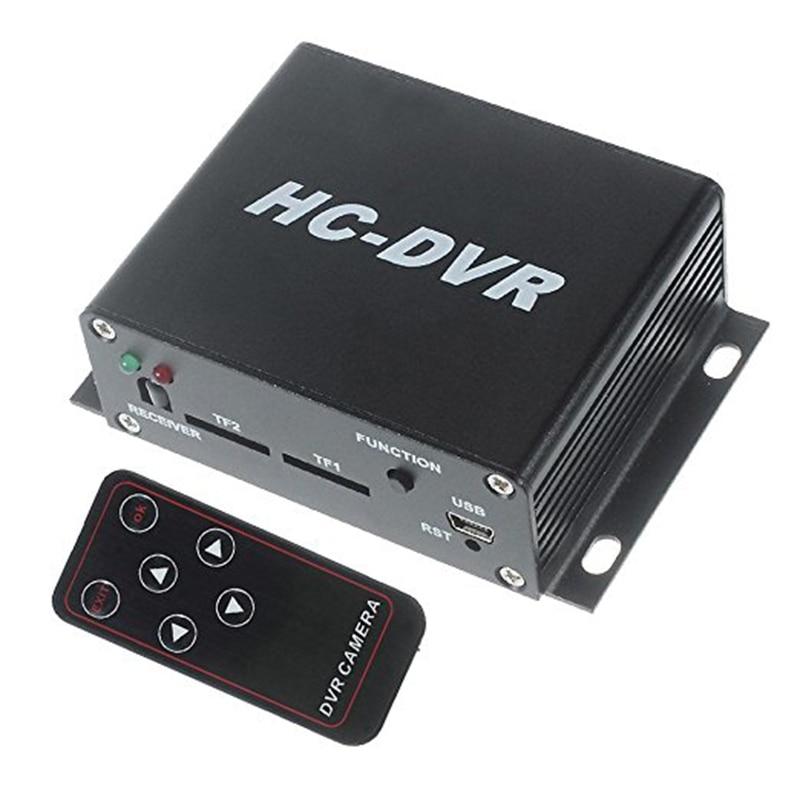 ФОТО HC-DVR Dual Card 128GB Large Storage TF SD Card Mini DVR 1CH Video+1CH Audio H.264 HDMI USB CCTV Camera Video Recorder Remote